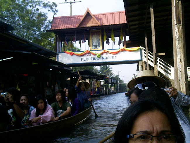 FLOATING MARKET - THAILAND