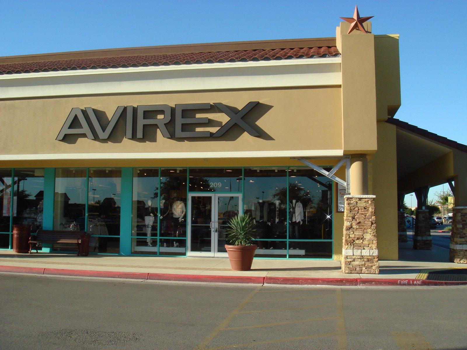 AVIREX NEWS: AVIREX STORE GRAND OPENING SAN MARCOS, TX