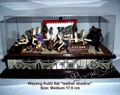 Wayang kulit/ Flat Leather Shadow