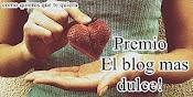 Premio Blog mas dulce