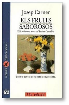 Els fruits saborosos de Josep Carner