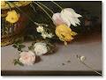 Jan Brueghel el Vell. Cistell amb flors (detall)