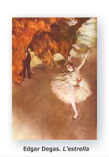 Edgar Degas. L'Estrella