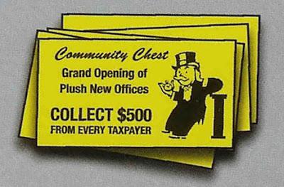 Novelty Monopoly Cards Dem+Monopoly+Community+Chest