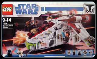 7676 Republic Gunship box pre release 2008