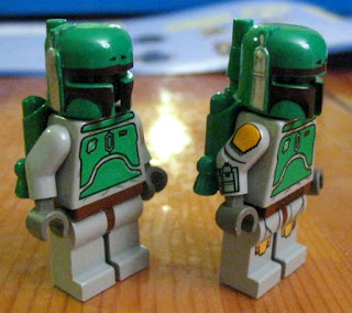 boba fett rare star wars lego collectables