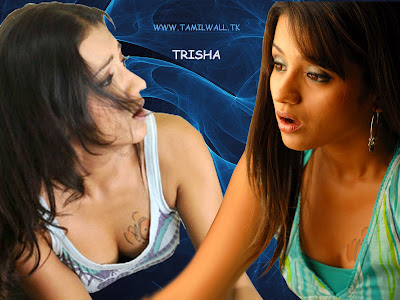 Actress Trisha Cleavage
