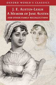 of a memoir of jane austen