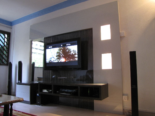 302 found Wall tv console design
