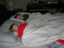 Sleepy boys!
