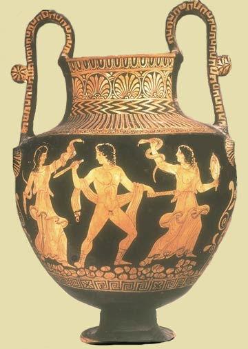 Oedipus Dramaturgy Learning From Greek Vase