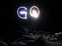 Una luz en la montaña!