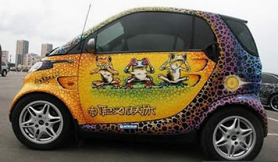 Amazing Car Paintings