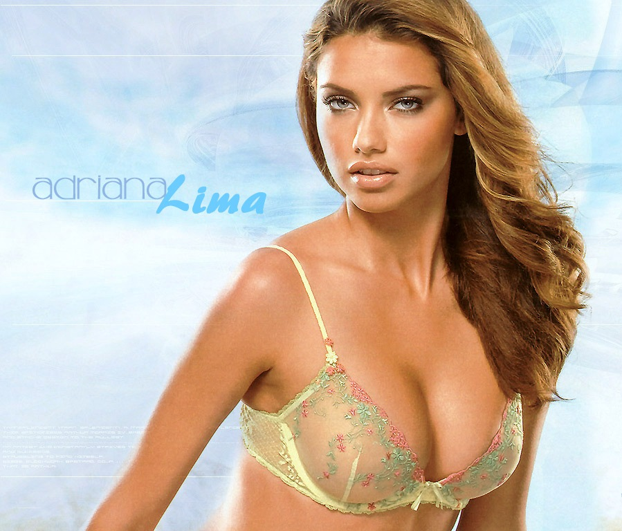 Adriana Lima's Hot Wallpaper | World Amazing Pictures, Intersting ...