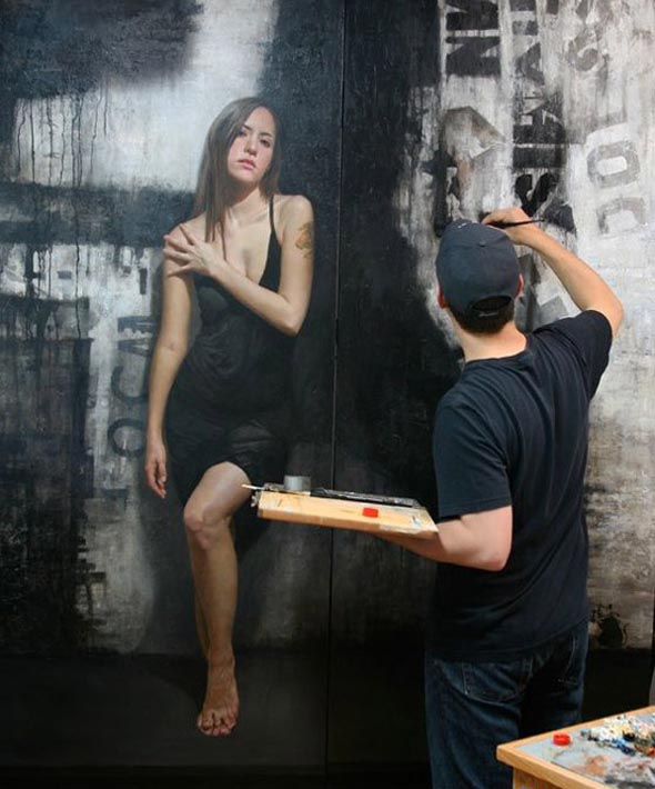 Amazing Wall Paintings by Alexa Meade