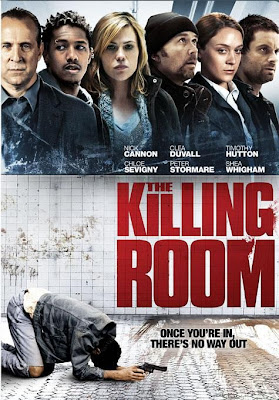 Filme Poster The Killing Room DVDRip H264 Legendado