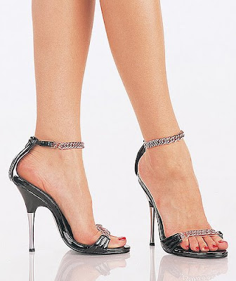Sexy high heel sandals for party lover girl