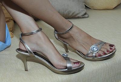 Sexy Semi Platform Heels