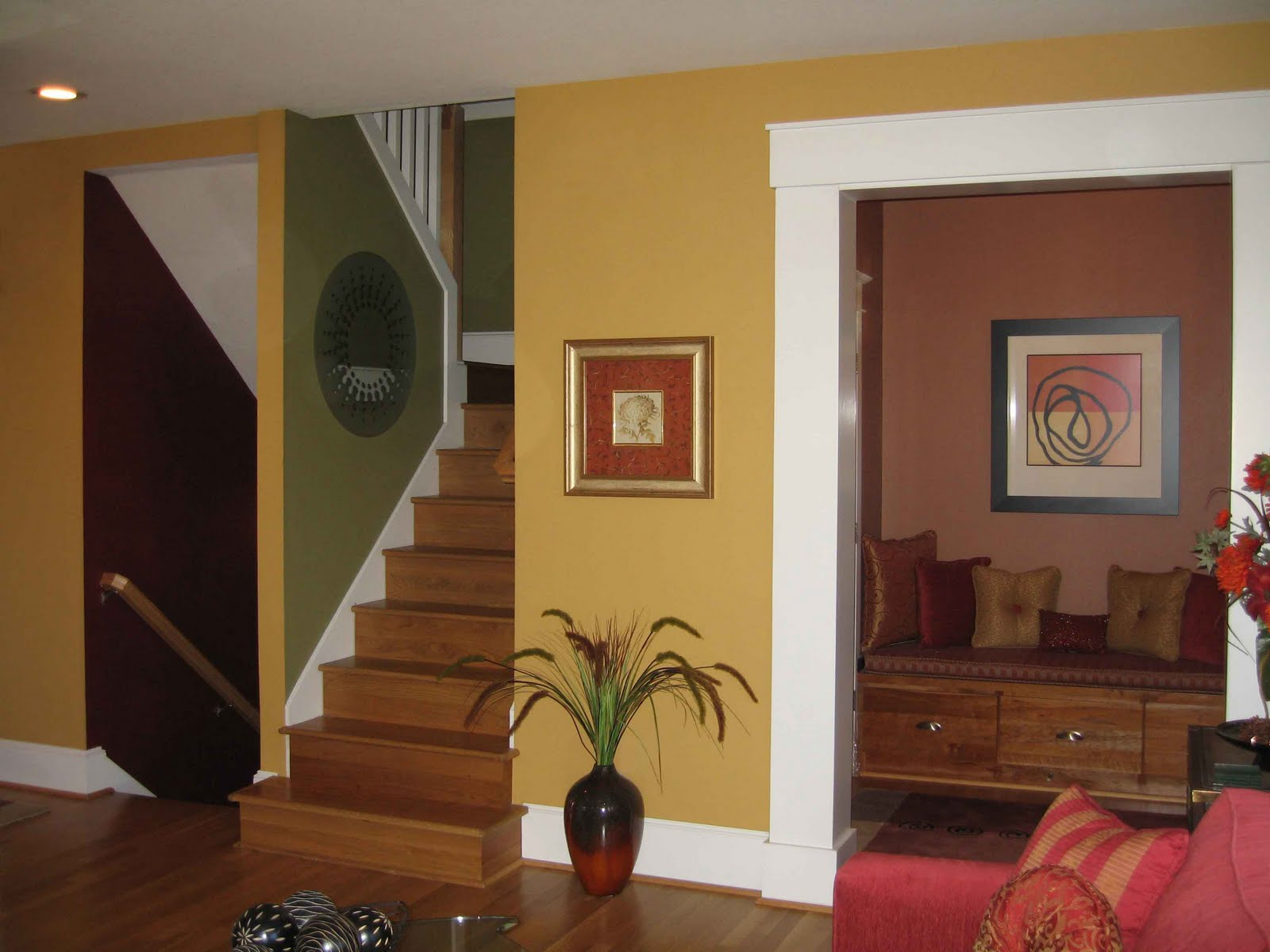 Interior spaces interior paint color specialist in for Home wall paint colour