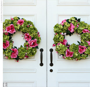 Happily After All: Wedding Wreaths...