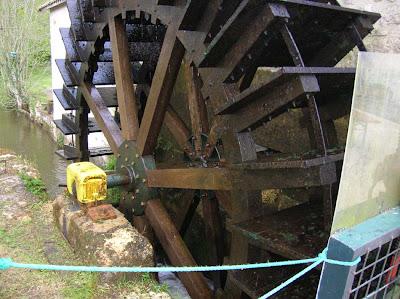 Mill Wheel at Brasserie de la Rainette