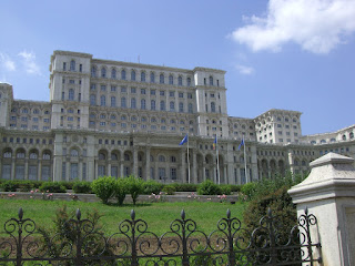 Reportedly the second largest building in the world behind the Pentagon.  The Bucharest Parliament building is massive.