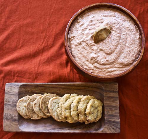 ... Books: Hot and Sweet Red Pepper Dip with Walnuts and Pomegranates