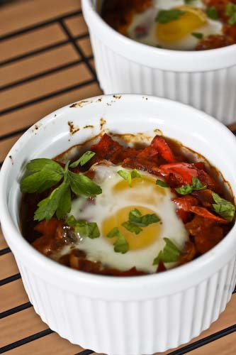 Cooking Books: Shakshuka, Israeli Baked Eggs with Vegetables