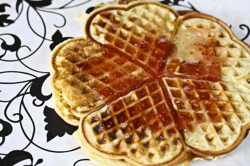 Cooking Books: Norwegian Everyday Waffles