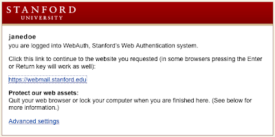 Www.WebMail.Stanford.edu - Login to Stanford WebMail - Stanford University webmail