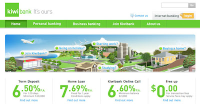 www.kiwibank.co.nz Login - Internet Banking