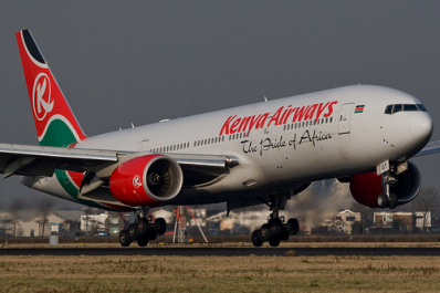 Kenyan Airways - www.Kenya-Airways.com Online Booking & Flight Status