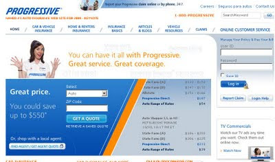Progressive.com : Sign In to Progressive Insurance to Pay Bill
