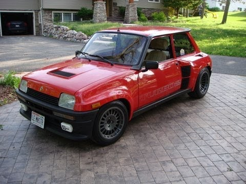 grey in the usa 1984 renault 5 turbo 2 on ebay. Black Bedroom Furniture Sets. Home Design Ideas