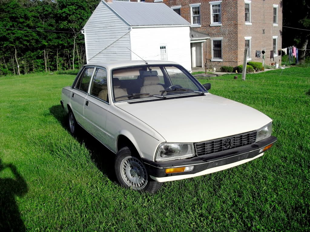 Grey in the USA: Reader\'s car For Sale - 1983 Peugeot 505 SR