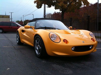 Grey in the USA: 1999 Lotus Elise Sport 190 - Street Registered in IL