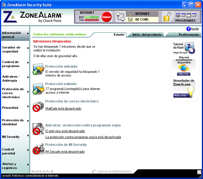 Zonealarm security suite espaol serial - peclinelu's diary