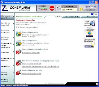 zone alarm 6 gratis descarga: