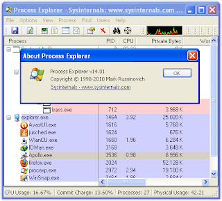 Process Explorer 14.01