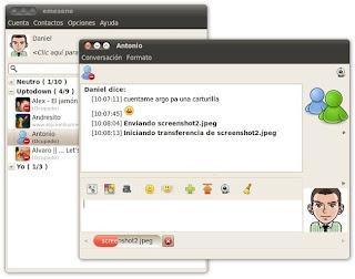 emesene 1.6.3 para Ubuntu