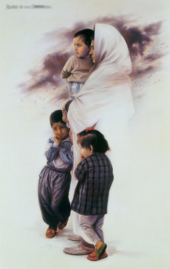 paintings of iman maleki