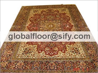 original silk carpets india