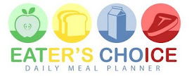 To Order the Eater's Choice Daily Meal Planner
