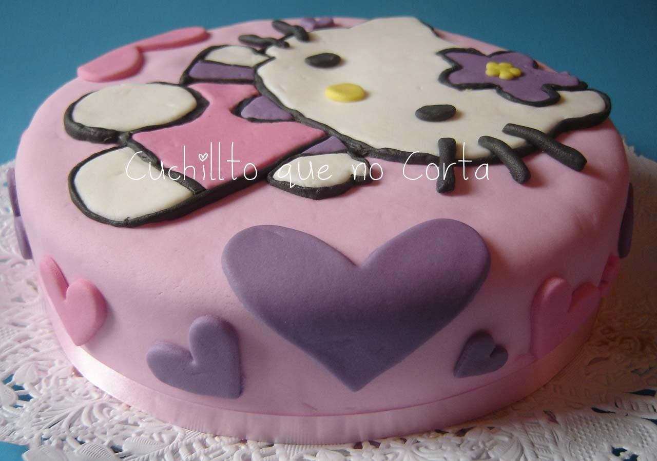 Kitty Decoracion De Tortas ~ Cuchillito Que No Corta Torta Hello Kitty
