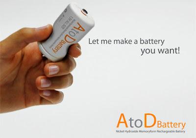 開発商品と発想の転換:サイズ選びで悩まない電池