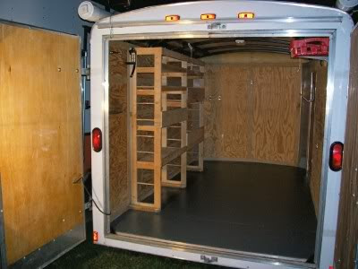 homemade cargo camper trailers ehow ehow how to party. Black Bedroom Furniture Sets. Home Design Ideas