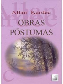 Livro Obras Póstumas, de Allan Kardec