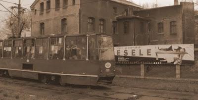 Mkną kolorowe tramwaje...