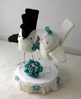 wedding cake topper, bird cake topper, bird, wedding