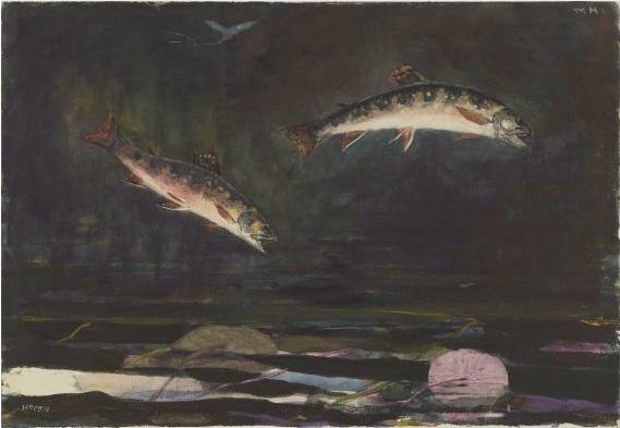 1892  watercolor over graphite